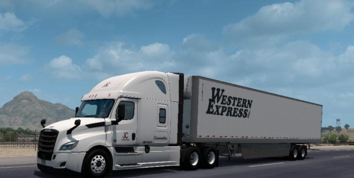 Western Express skin for 48-53 SCS Box