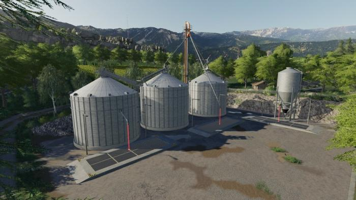 Grain Silo Set With Multifruit v1.2