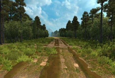 DIRTY ROAD MAP BETA ETS2 1.39