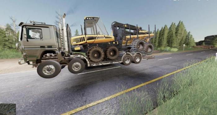 SISU POLAR FOREST MACHINE TRANSPORT V1.0