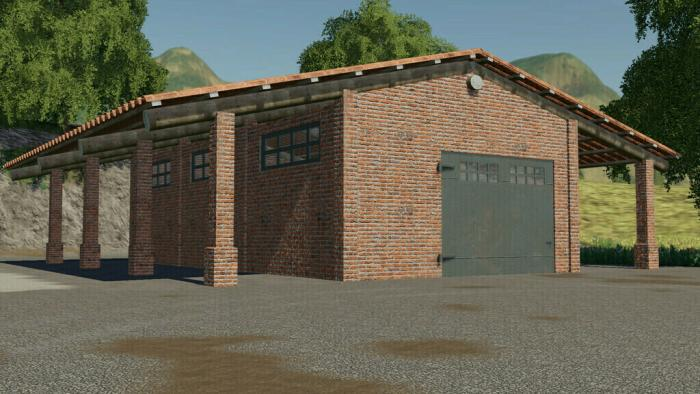 Brick Shed Pack Italian Style v1.2