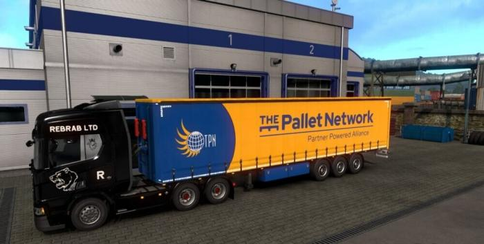 The Pallet Network Trailer Skin