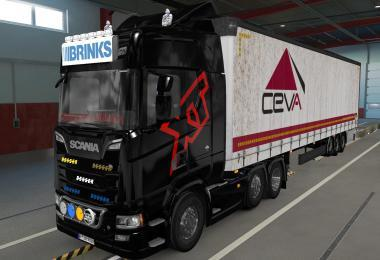 BIG LIGHTBOX SCANIA R AND S 2016 BRINKS 1.39