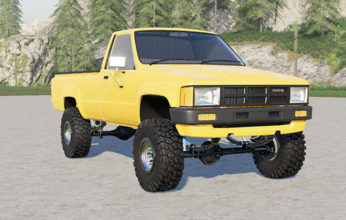 Toyota Hilux Single Cab 4WD 1983
