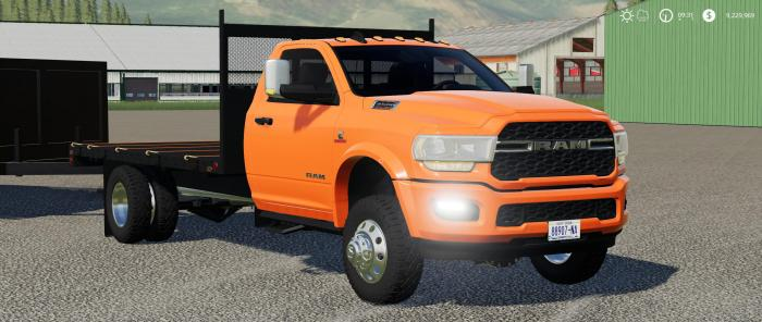 2020 RAM 3500 FLATBED UPDATED V2.0