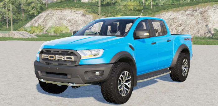 Ford Ranger Raptor Double Cab 2019