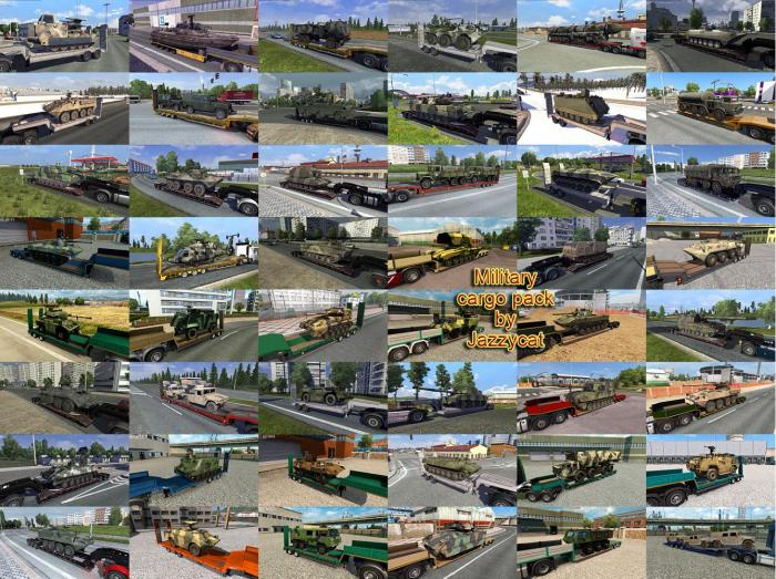 MILITARY CARGO PACK BY JAZZYCAT V4.9