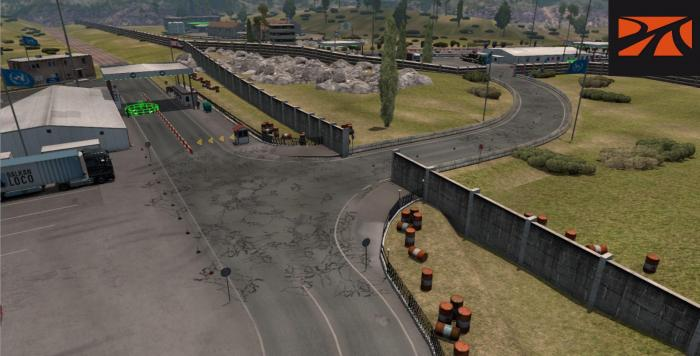 OPEN BORDER BETWEEN ISRAEL AND LEBANON PROMODS FIX V2.51