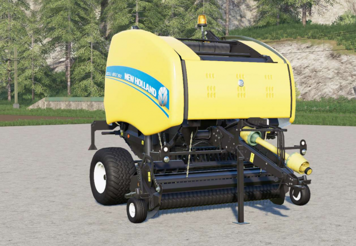 New Holland Roll-Belt 150〡wheels selection