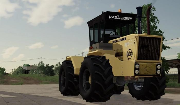 RABA STEIGER 250 BLACKPOWER V1.0.0.0