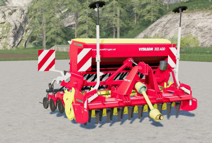 Pottinger Vitasem 302 ADD〡detail correction