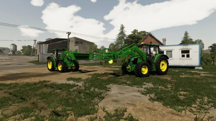 JOHN DEERE FRONT LOADERS WITH TOOLS V1.0.0.0