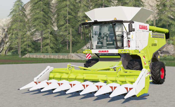 Claas Lexion 770〡full washable