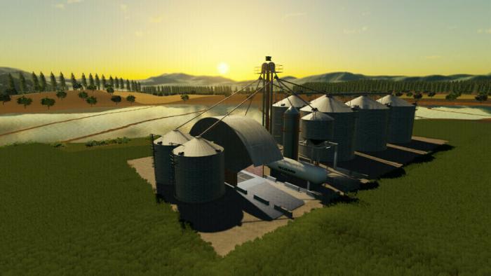 Brazilian Mega Silo And Grain Sale