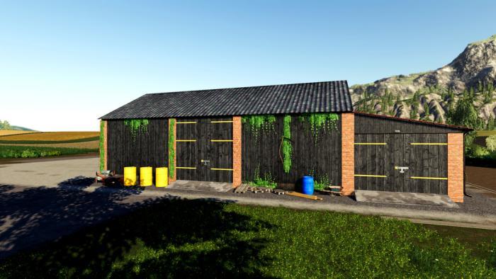 Barn With Garage
