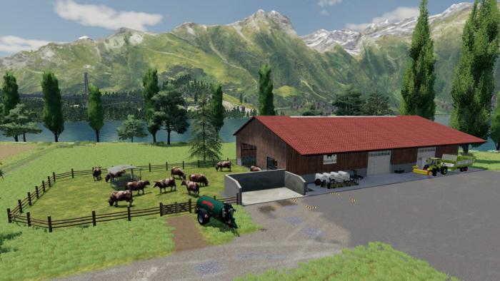 Modern Cowstable
